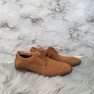 Steve Madden Mens Oxford Dress Shoes Brown Sz 11